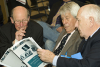 Professor Dunan Vere, Dr Peter Fletcher and Professor John Griffin at the Witness Senminar on 'Clinical Pharmacology in the UK, c. 1950-2000', 6 February 2007