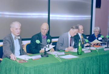 Sir Stanley Peart, Dr Marshall Marinker, Dr Ian Tait, Dr Clifford Kay, Prof Margot Jefferys