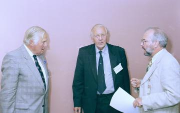 Sir Keith Ross, Professor Donald Longmore, Professor Tom Treasure