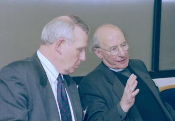 Dr Peter Jones, Rev Alan Tanner