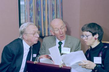 John MacVicar, Dr James Willocks, Mrs Lois Reynolds