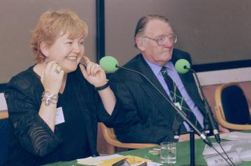 Dr Tilli Tansey, Sir Chris Booth