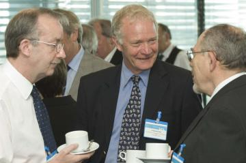 Mr Barry Hill, Dr Malcolm Read, Professor Charles Galasko
