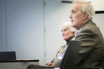 Professor Bernadette Modell, Sir David Weatherall