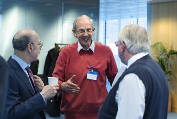 Professor Norman Rosenthal, Professor Gerald Lincoln, Professor Sir Brian Follett