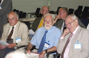 Dr John Law, Dr Peter Tothill, Dr Adrian Thomas, Dr John Haybittle and Dr Philip Dendy
