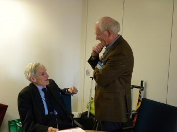 Professor Sir Eldryd Parry, Dr Jim Cox